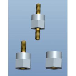 Miniatur-Isolierbolzen mit metrischem Gewinde