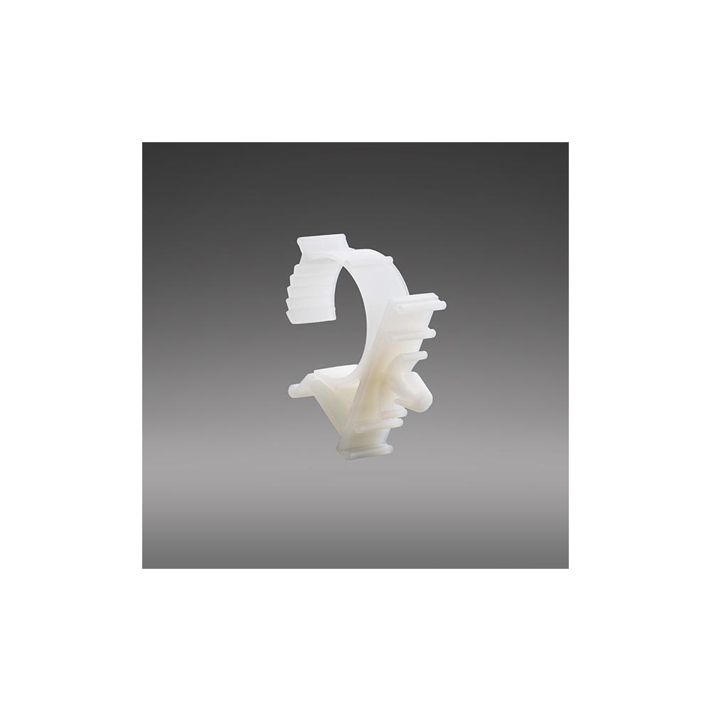 Verstellbare Klemme mit Schnappbefestigung