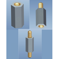Metric Hex Insulators