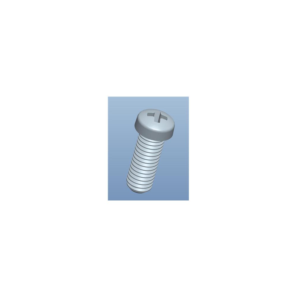 Metrische Schraube mit Kreuzschlitz