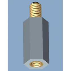 Metrische Sechskant Isolierbolzen