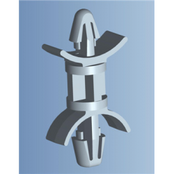Leiterplatten-Abstandshalter Verriegelt