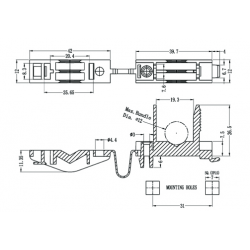 Cable Clamps - Hinged Locking