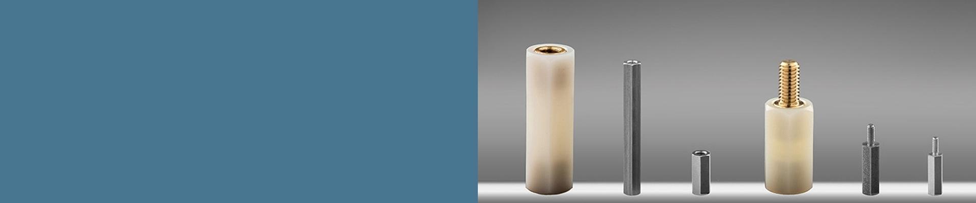 Abstandsbolzen aus Messing oder Stahl mit UNC Gewinde